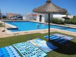 Very large pool is shared (30m from villa driveway)- with restricted key access.