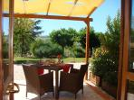 Cardellino apartment - private terrace with views
