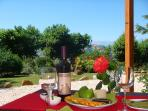 Relax in style with a glass of excellent Marche wine!
