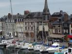 View of Quay Saint-Etienne from another window of the flat