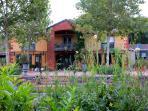 Distinctive architecture - the main house