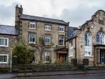 Post office house dates back to 1712 and retains many of its period features