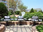 some of the many barbecue grills