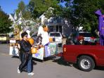 The annual Fall Festival features a variety of activities every October.