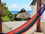 sea views from the hammock