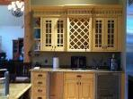 Wine fridge and ice maker