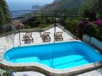 Sorrento villa booking holiday rentals with private pool and sea panoramic marina del cantone view