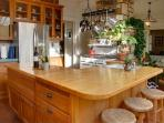 Light-filled kitchen with everything you need.