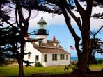 Point Pinos Lighthouse in Pacific Grove.