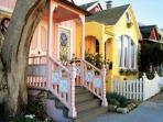You'll want to take a driving tour of the many historic Victorian homes in Pacific Grove.
