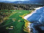 Play a round at the world famous Pebble Beach Golf Course.