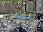Private Outdoor Patio and Garden for Dining Al-Fresco!