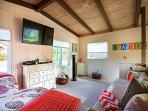 The 4th Bedroom Loft has a Large Flat-Screen HDTV. Perfect Space for Kids!