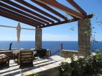 Panoramic Sea View Terrace. Watch the sunset in comfort and relax to the sound of the waves.