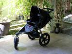 B.O.B. stroller makes staying mom's life a breeze.
