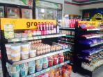 Groceries avilabe at mini mart, 50 meters from apartement