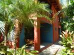 Casa Tortuga's 1st Bedroom Back Porch