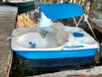 New paddle boat