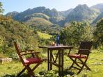 Jascal - Casa Rural en Picos de Europa - Terraza con vistas