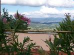 panorama dalla terrazza/solarium
