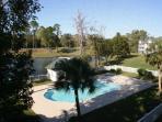 Complex pool...right next door