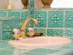 Exquisite tiled Master bathroom
