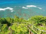 The way to Hideaway's -- great snorkeling spot.