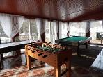 Gameroom (Pool,Air Hockey,Ping Pong,Fooseball,Darts)