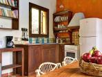 Villa Arktos: The kitchen
