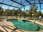Extended 28' Pool Deck not overlooked at rear