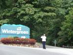 Wintergreen Mountain Resort entrance. Within 1 mile of Blue Ridge Parkway.