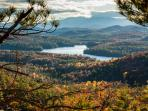 Come to Beau Overlook to hike RATTLESNAKE MT. ~ 3 mi. north, on Rte. 22 - opposite Long Pond Cabins.