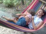 Enjoy the hammock