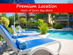 Luxury 1 BR apartment located by Grace Bay beach