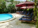 Relax by our gorgeous pool