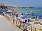 VIBRANT FIG TREE BAY - YOU CAN WALK FROM PERNERA ALL THE WAY ALONG THE BOARD WALK