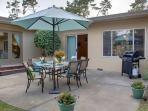 Huge Fenced Back Yard with Dining and Gas BBQ.