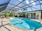 Egret Beach House, Private Heated Pool, Canal, Boat Dock, Sleeps 6