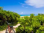 View of Kailua beach