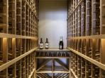 Large wine room down