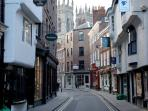 Old York facing the Minster
