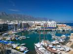 Kyrenia old Harbour, great to visit by day or night
