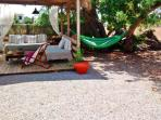Beautiful New Chill Out Zone With Hammock In The Air