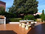 Terraza trasera - Rear terrace