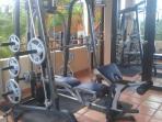 Fitness Room al fresco