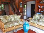living room. Regular steps to  panoramic loft