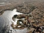 Aerial View of Sliema and St Julians showing Balluta Bay