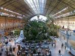 Estacion tren Atocha (AVE) 350mt.