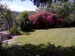 Extensive gardens surrounded by beautiful flowers and great vistas!
