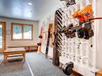 Wildcat Chalet Ski Room with Boot Heater